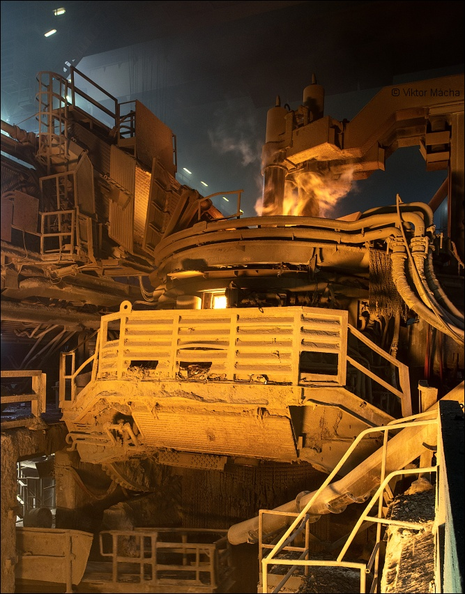Acciaierie Venete, electric arc furnace