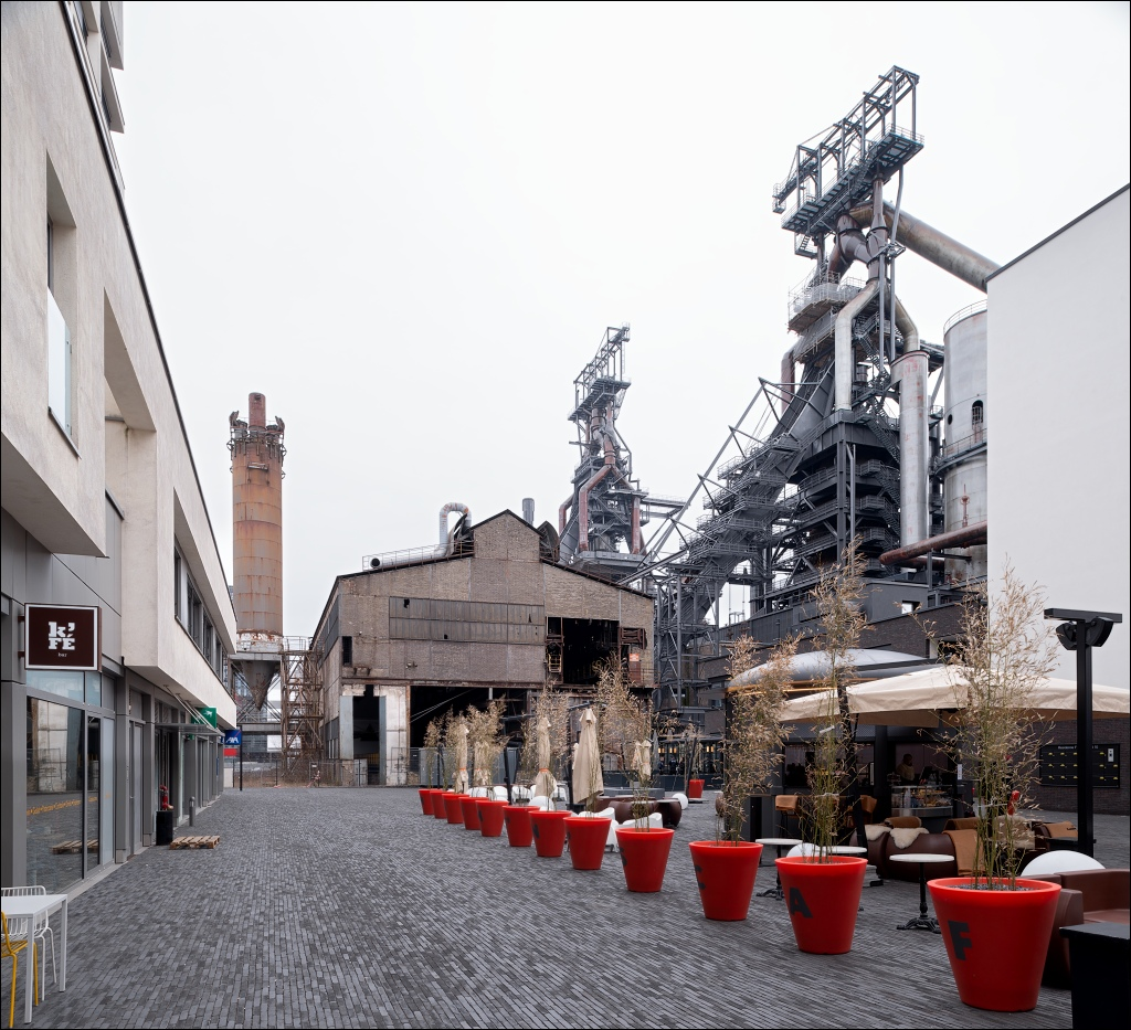 ARBED Esch-Belval, blast furnaces disappearing