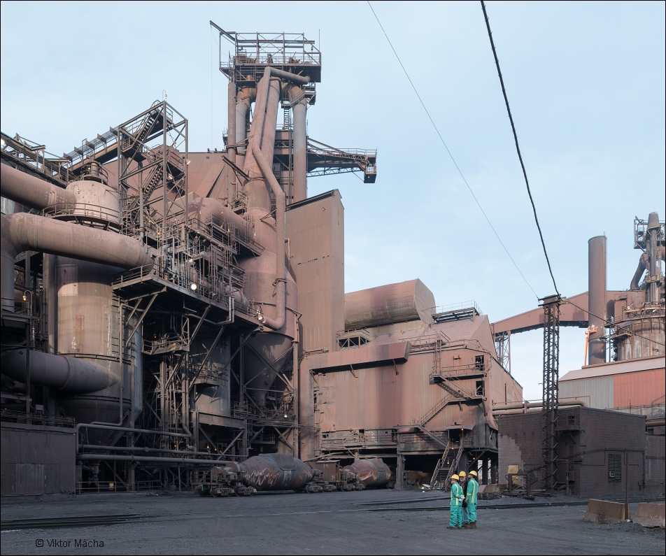 ArcelorMittal Burns Harbor, by the blast furnaces