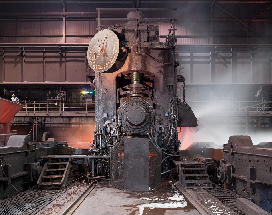 ArcelorMittal Burns Harbor, heavy plate mill