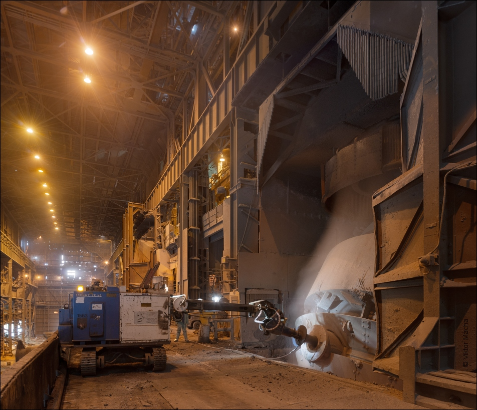 Arcelormittal Cleveland Cleaning The Converter Viktor