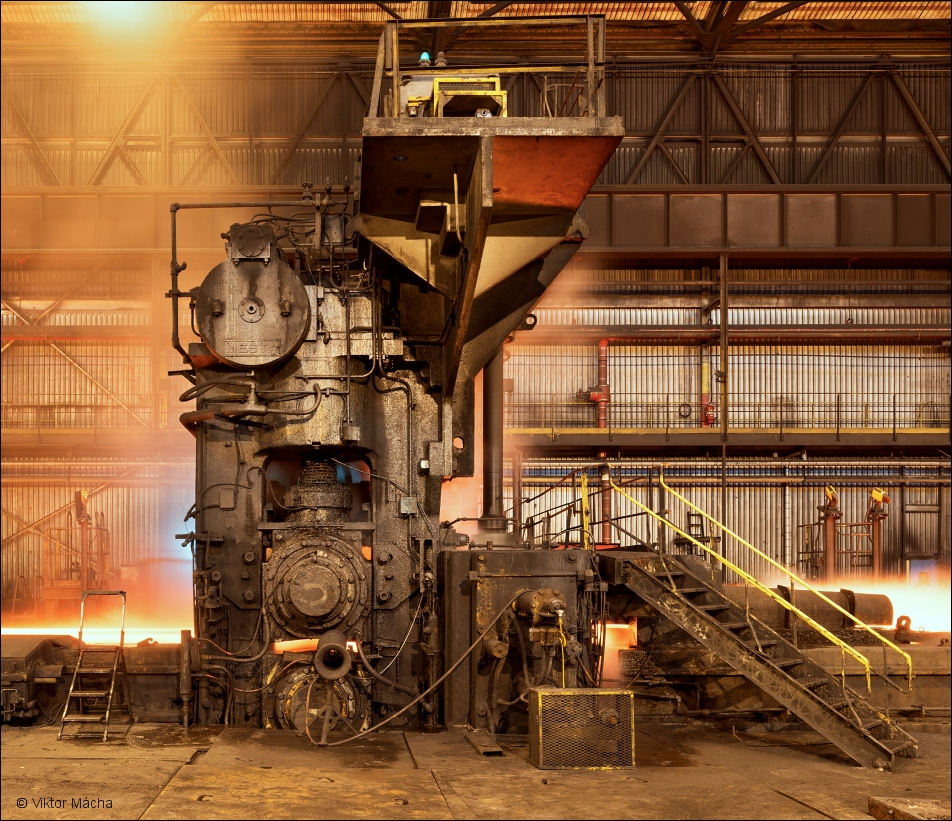 ArcelorMittal Cleveland, rolling stand at the hot strip mill
