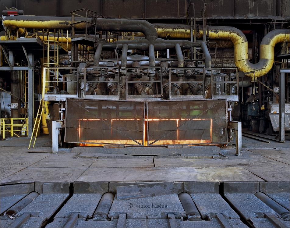 ArcelorMittal Ostrava, walking beam furnace