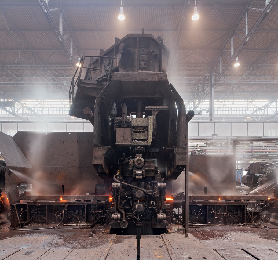 ArcelorMittal Ostrava, middle-section rolling mill