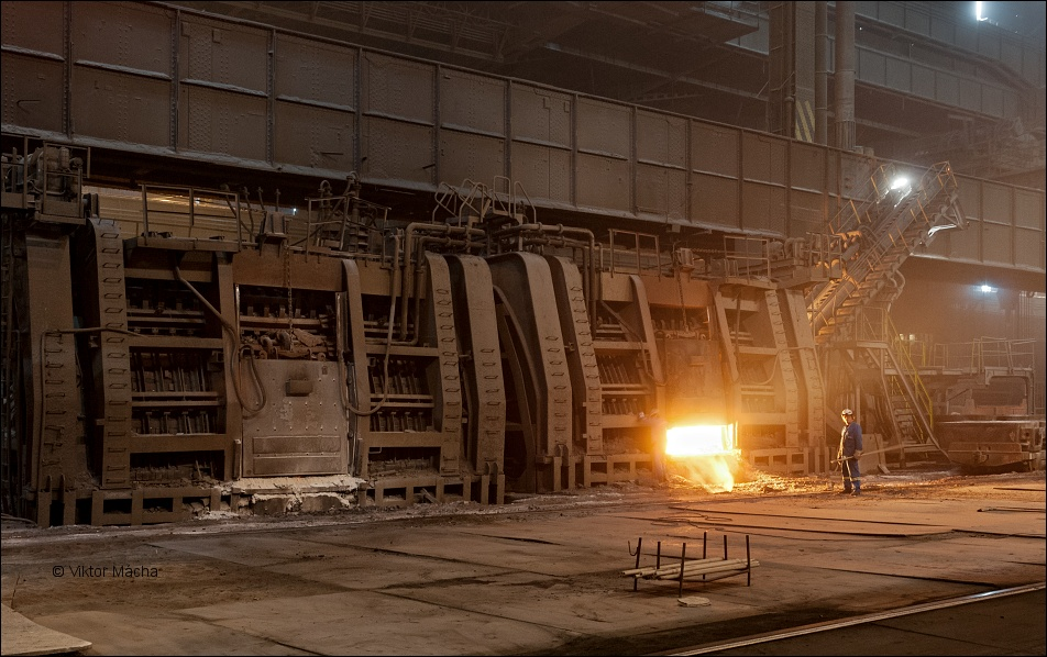 ArcelorMittal Ostrava, steelmill with tandem furnaces
