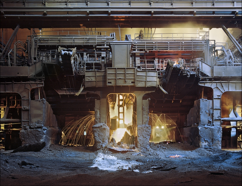 ArcelorMittal Ostrava, slag removing from the tandem furnace