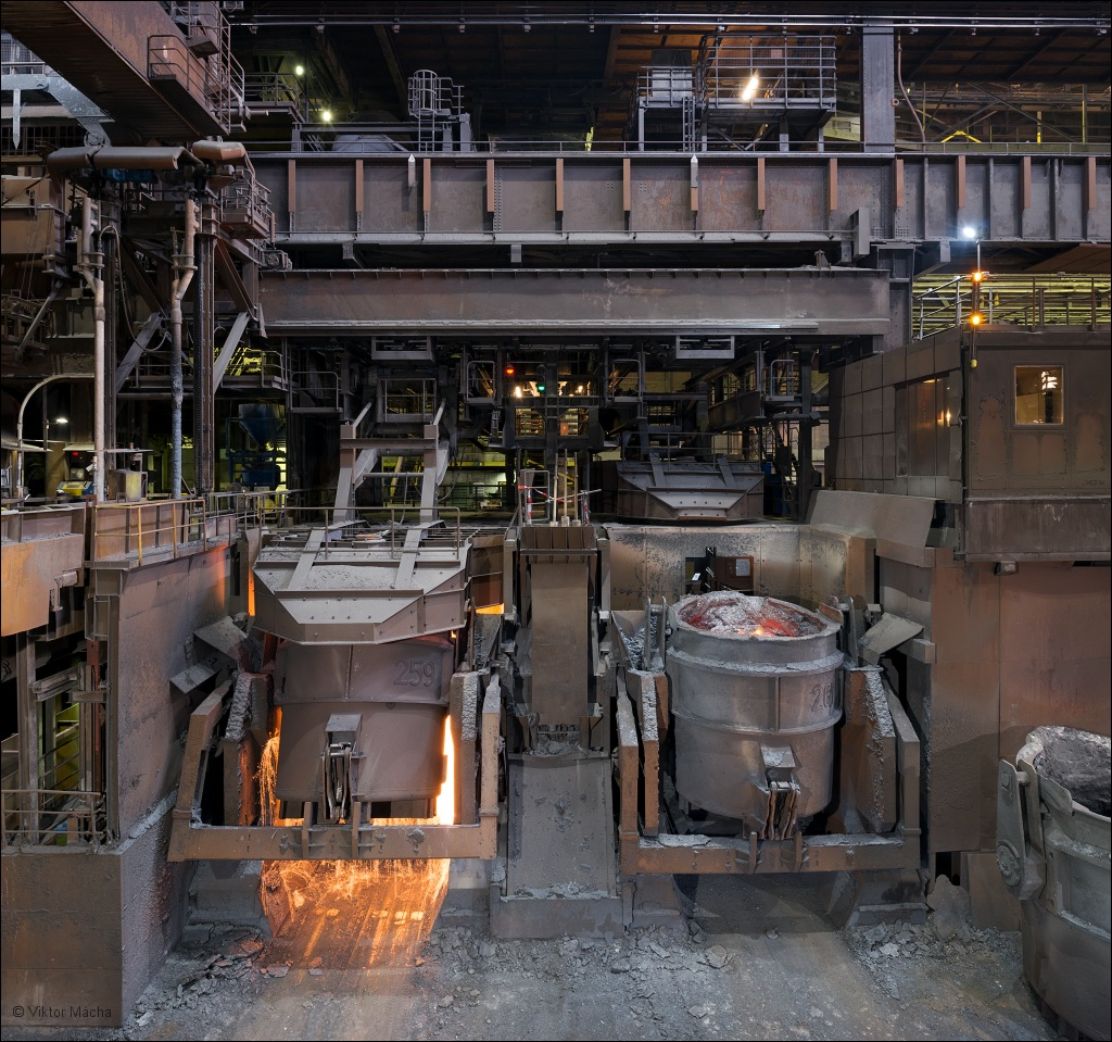 ArcelorMittal Ruhrort, desulphurization at the steel mill