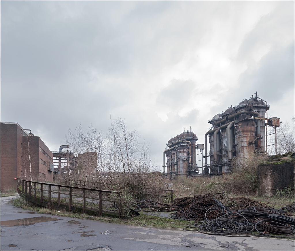 ArcelorMittal Ruhrort, the blast furnace #7 and #8 relics