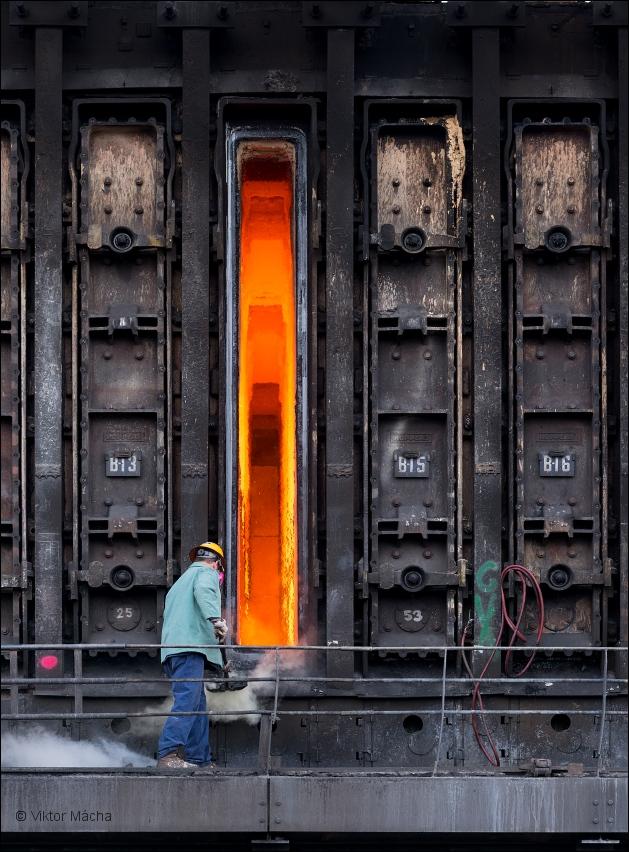 arcelormittal warren coke plant  chamber maintance