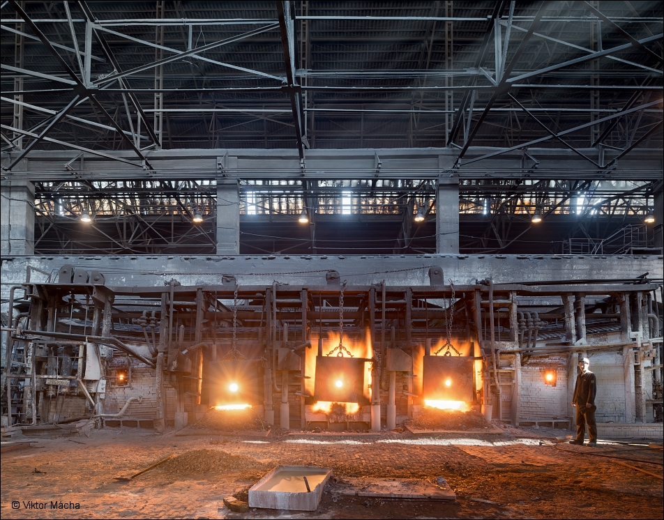 B-stal, 60 ton open-hearth furnace