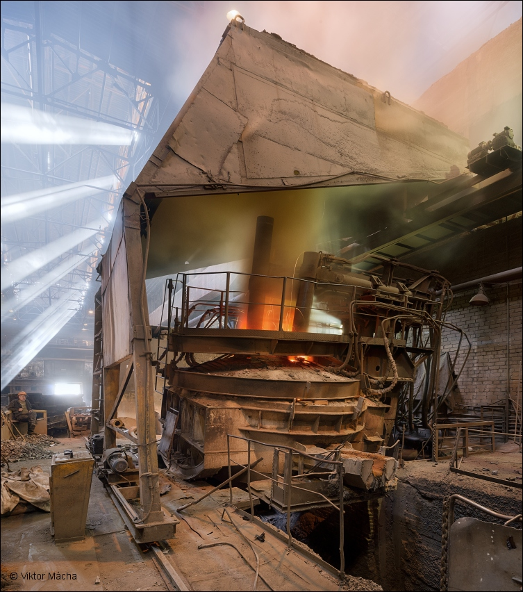 B-stal, electric arc furnace