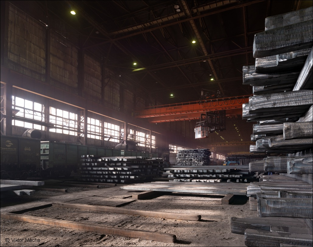 Beloretsk Metallurgical Plant, beams storage