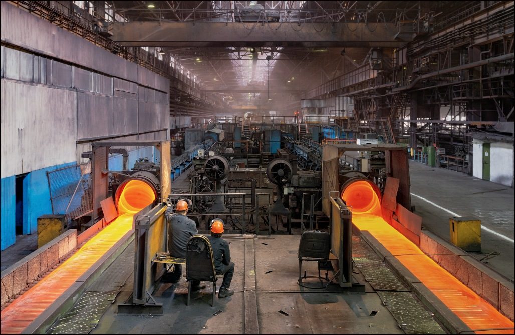 Beloretsk Metallurgical Plant, wire mill