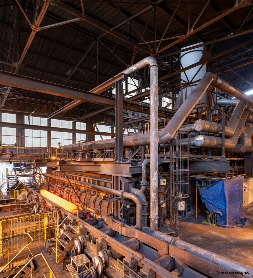 British Steel Hayange, walking beam furnace
