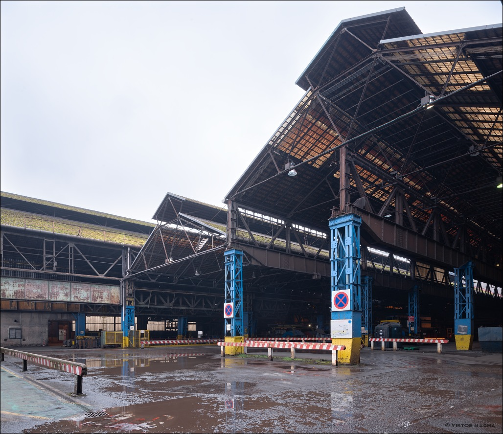 British Steel Hayange, the rail mill