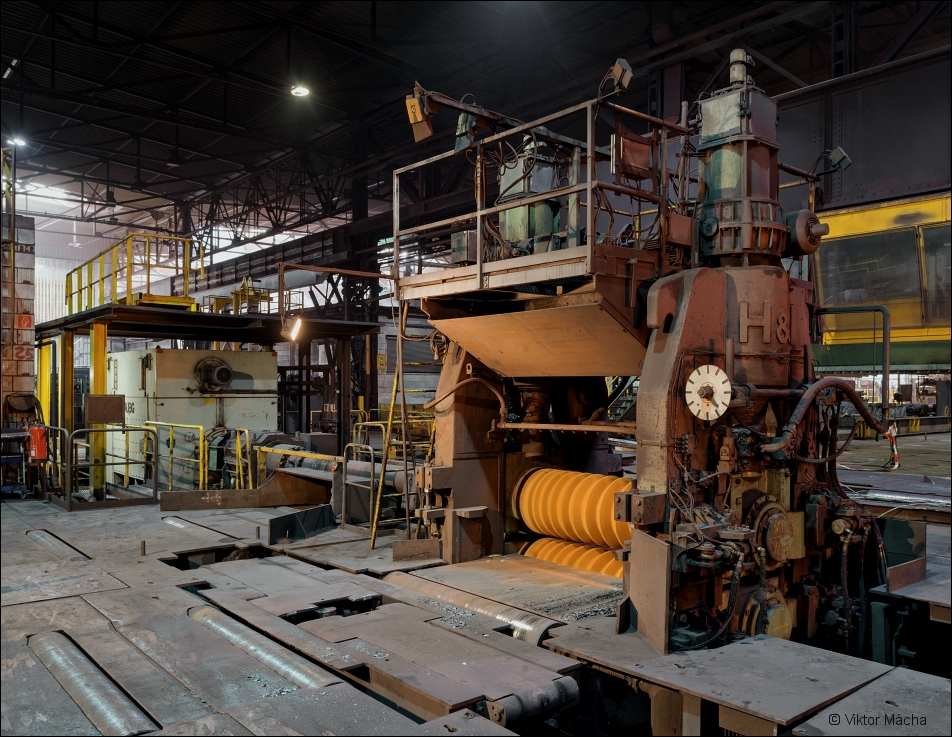 Buderus Edelstahl, profile rolling mill
