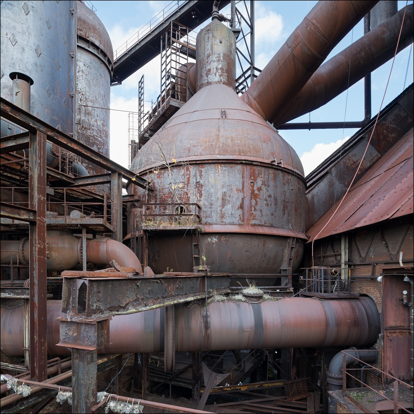 Carrie Furnace, dust catcher