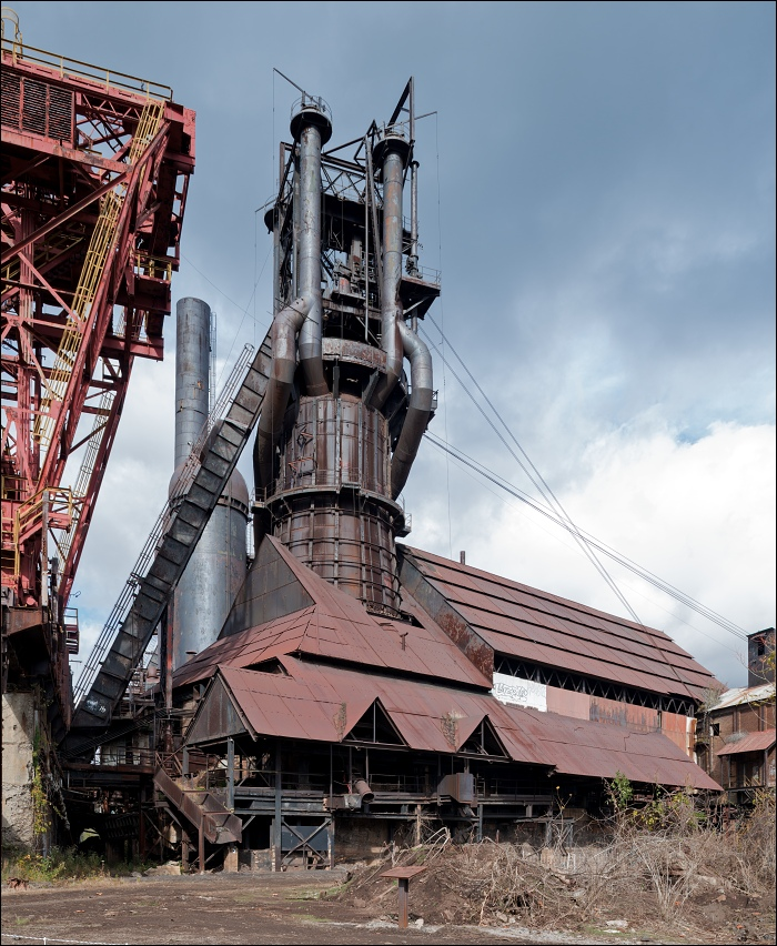 Carrie Furnace, blast furnace no.6