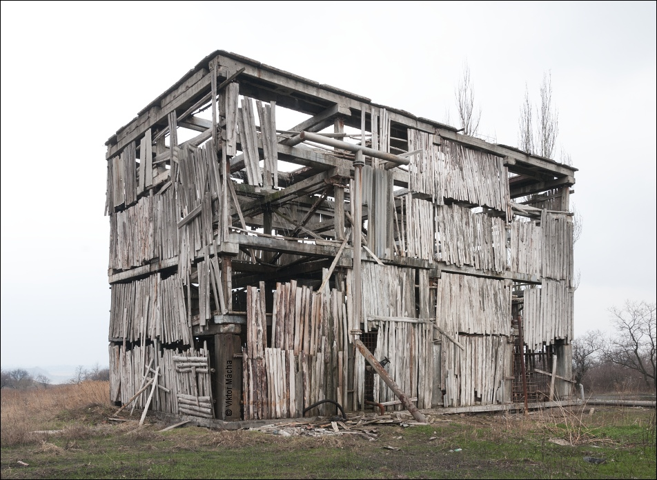 Yunokom colliery cooling tower, Yenakiive (Donbas)