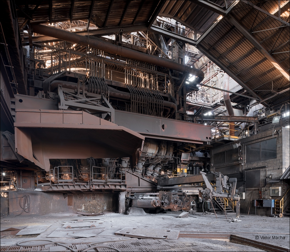 Cockerill Sambre Seraing, blast furnace no.6 casting house