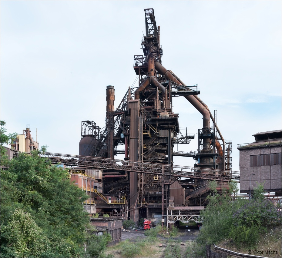 Cockerill Sambre Seraing, blast furnace no.6 (HF6)