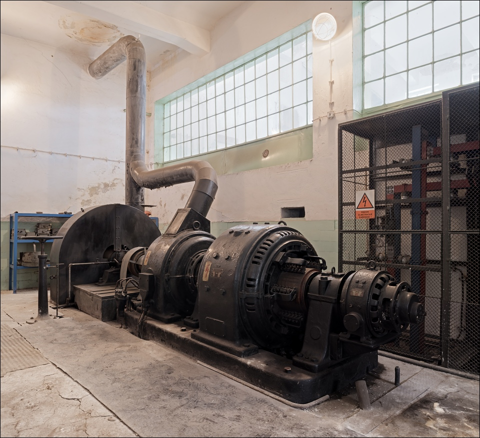 důl Centrum, compressor of C-1 winding engine
