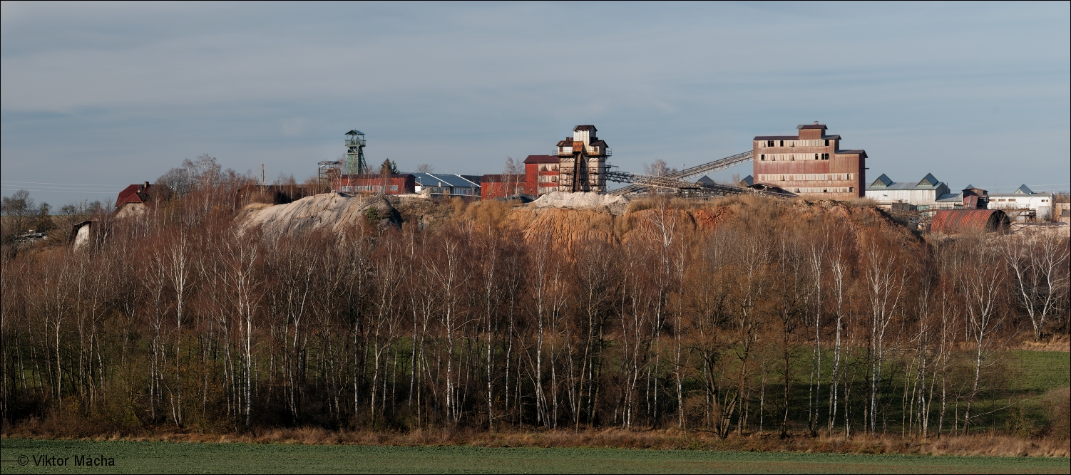 Rako clay mine, Lubná