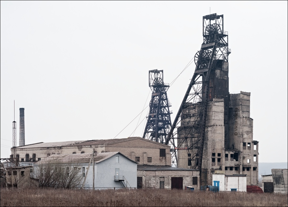 Red October colliery, Yenakiieve (Donbas)