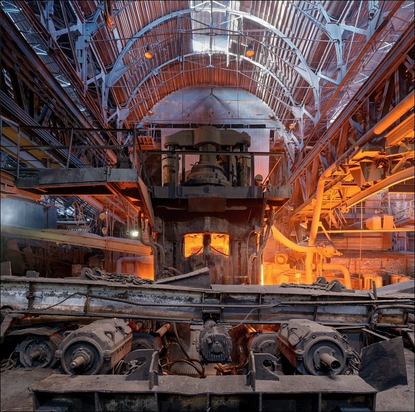 Evraz DMZ Petrovskogo, blooming mill