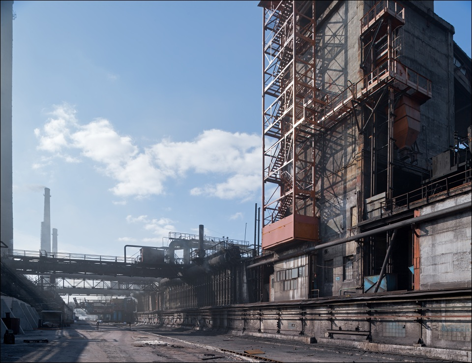 Evraz Dneprokoks, coking plant grounds