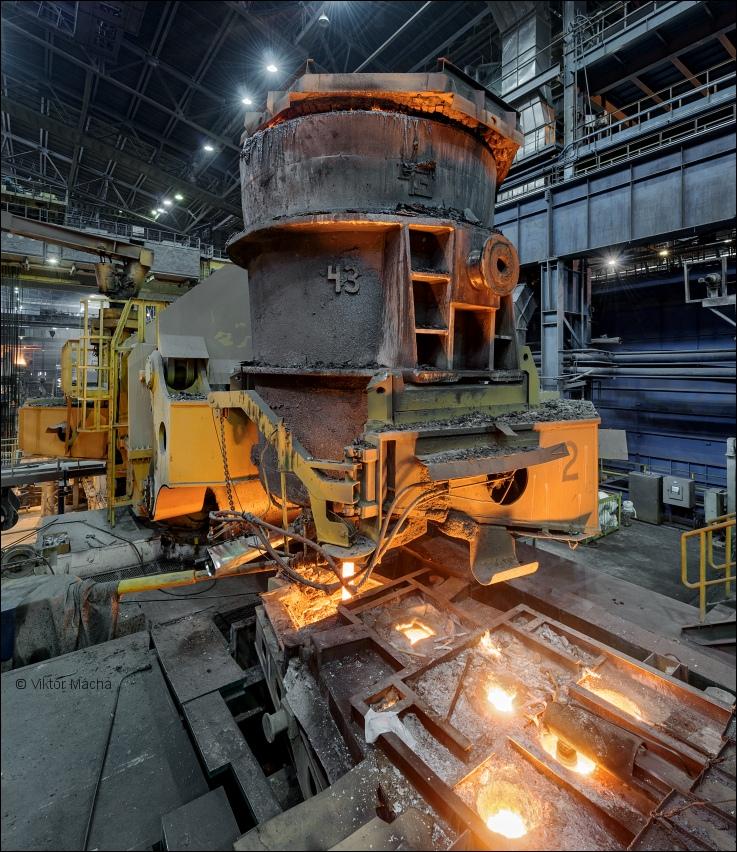 Evraz NTMK, continuous caster   Viktor Mácha - industrial ...