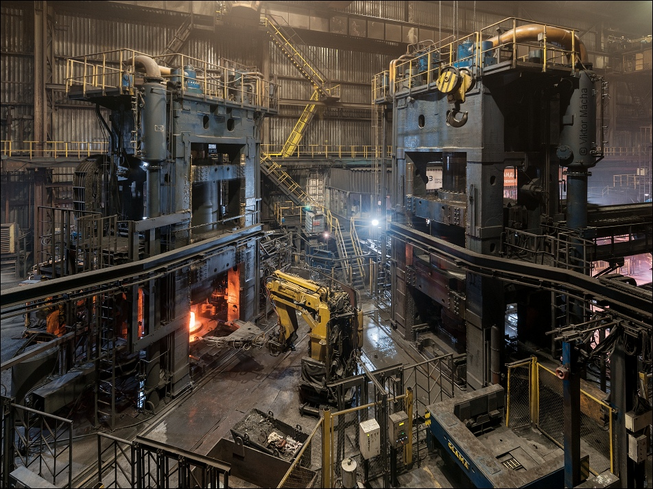 Evraz NTMK, ring rolling mill