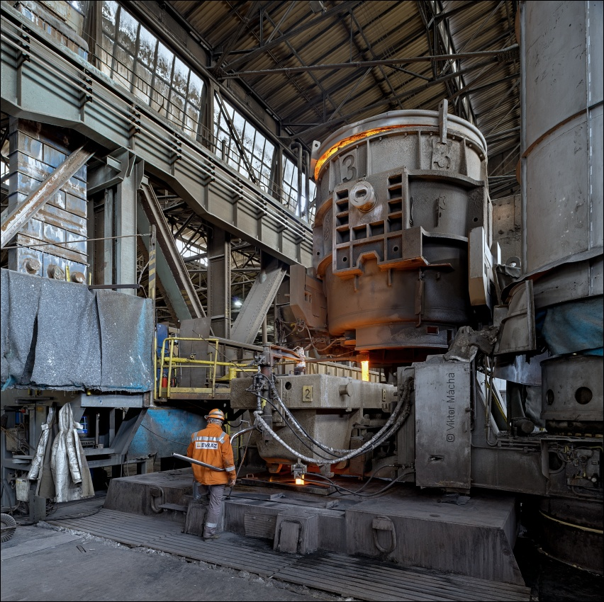 Evraz Vítkovice Steel, continuous caster