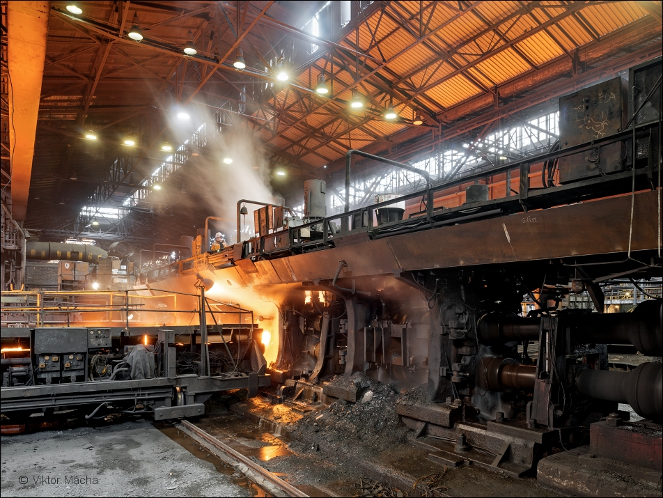 Evraz Vítkovice, heavy section rolling mill