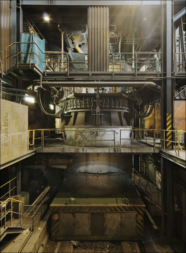 EVRAZ Vítkovice, laddle furnace