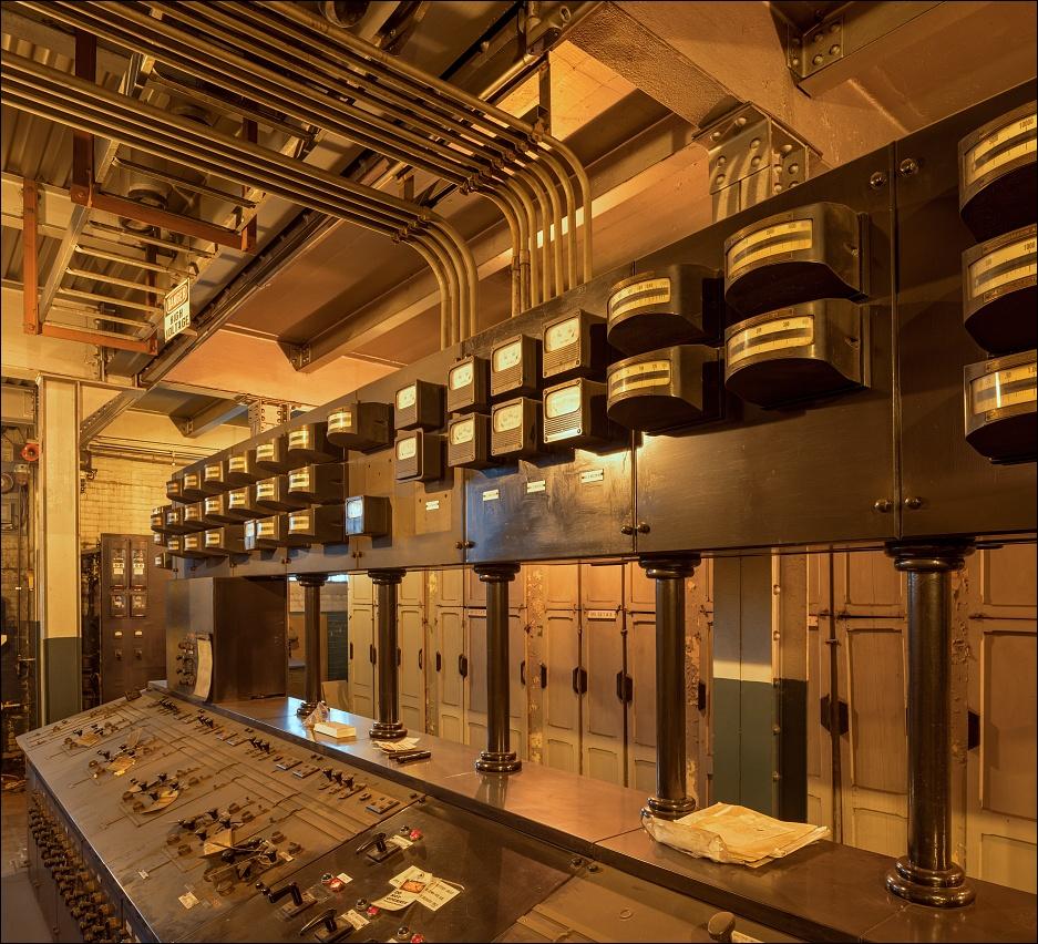 Gautier Steel, electricity room | Viktor Mácha ...