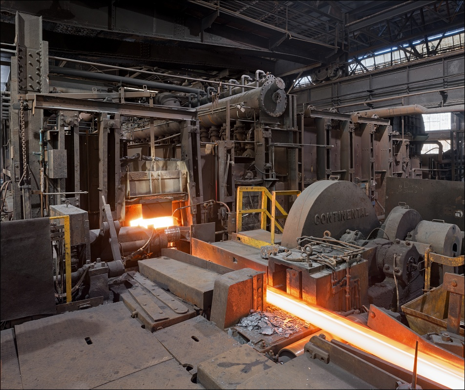 Gautier Steel, heating furnace