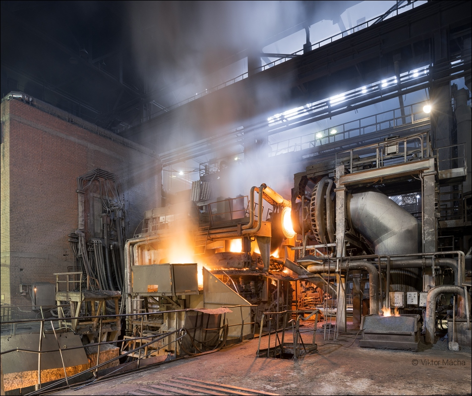 GUP Liteyno-prokatnyy zavod, melt at the 35 t electric arc furnace