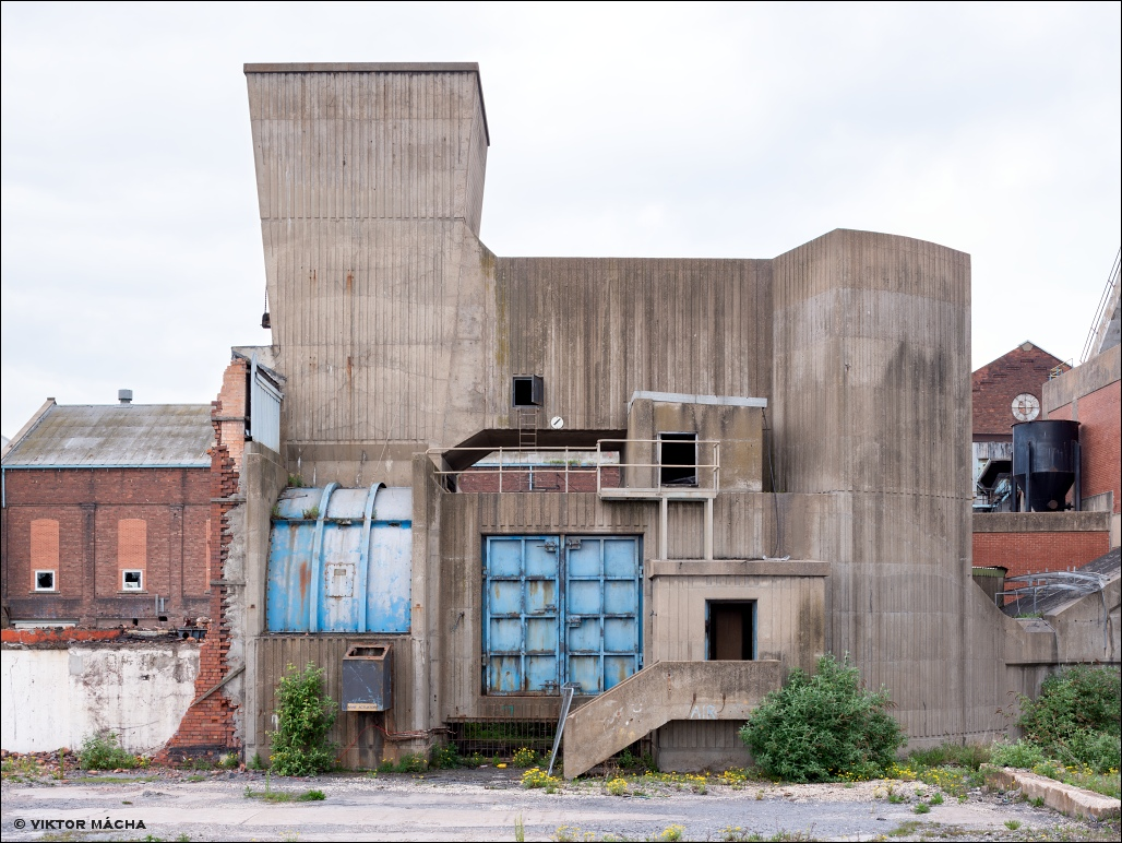 Hatfield colliery, Doncaster - ventilator