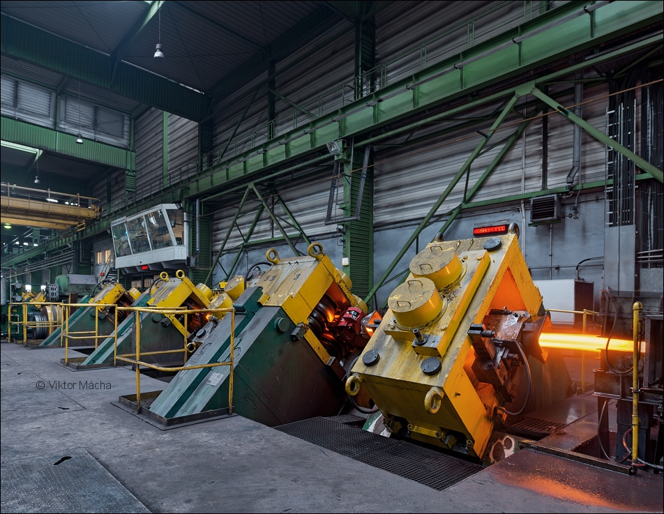 Huta Baildon, bar rolling mill