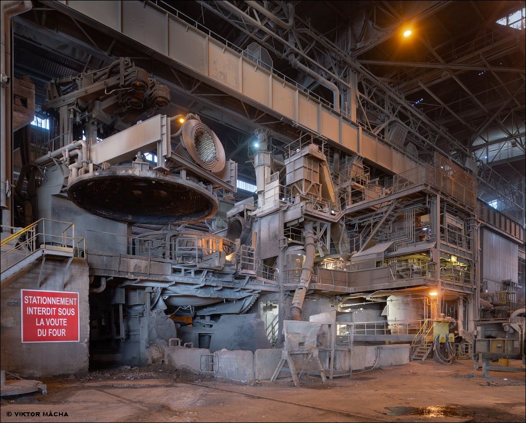 Industeel Châteauneuf, electric arc furnace