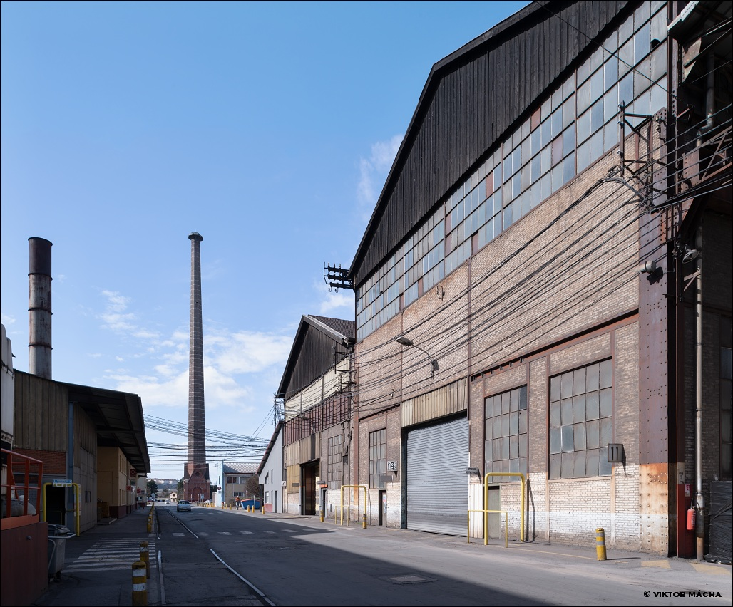 Industeel Châteauneuf, industrial architecture