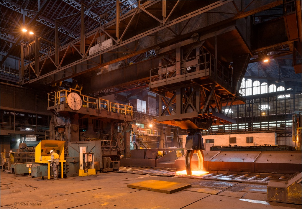 Industrial Le industeel le creusot viktor mácha industrial photography