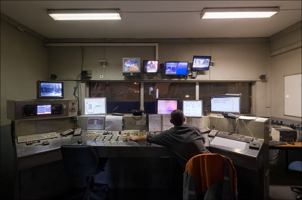 Industeel Le Creusot, control room