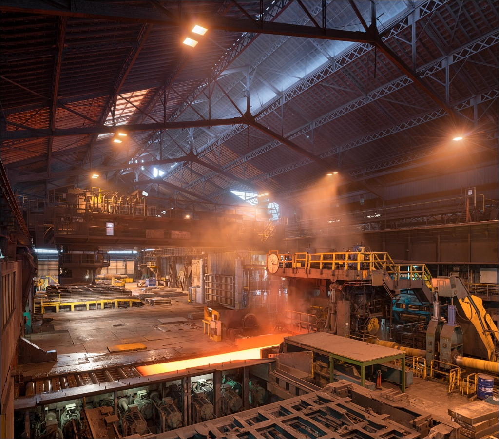 Industeel Le Creusot, heavy plate mill