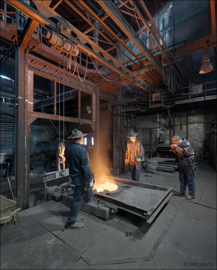 KD Foundry (Králodvorské železárny), by the induction furnace