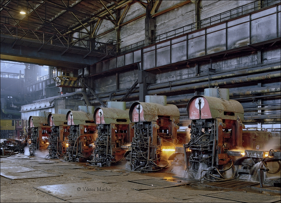 Krivorozhstal, wire rod mill