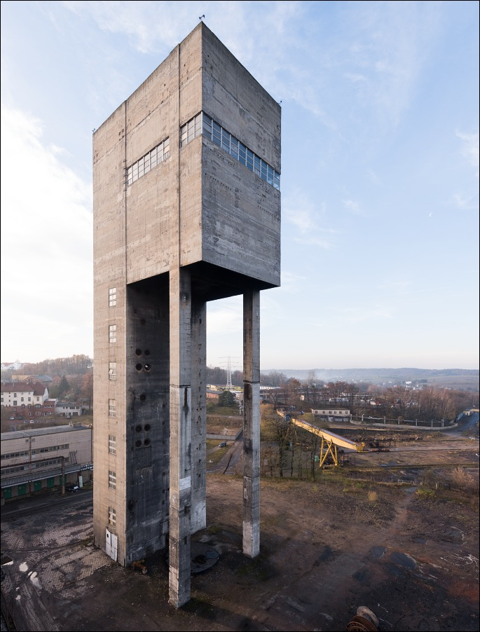 kwk Anna, szyb Chrobry II winding tower