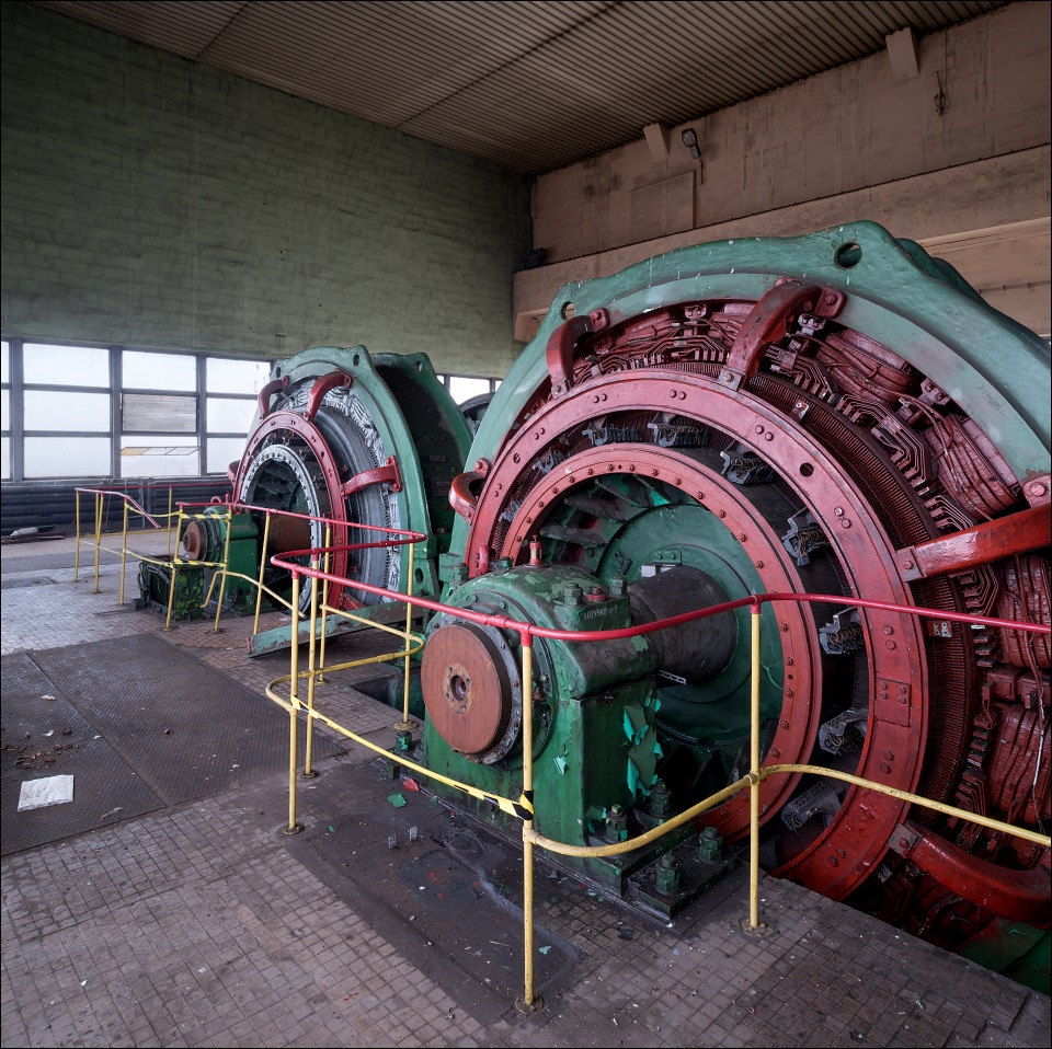 kwk Anna, winding engine of Chrobry II pit