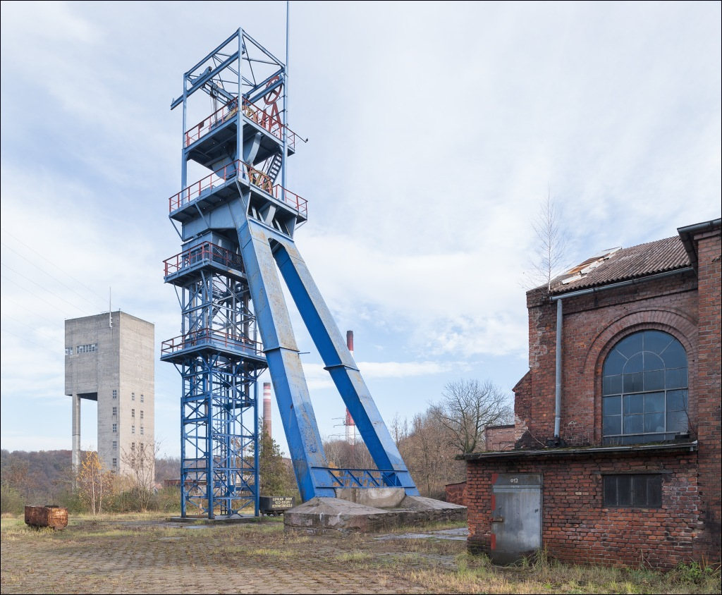 kwk Anna, szyb Jan headframe